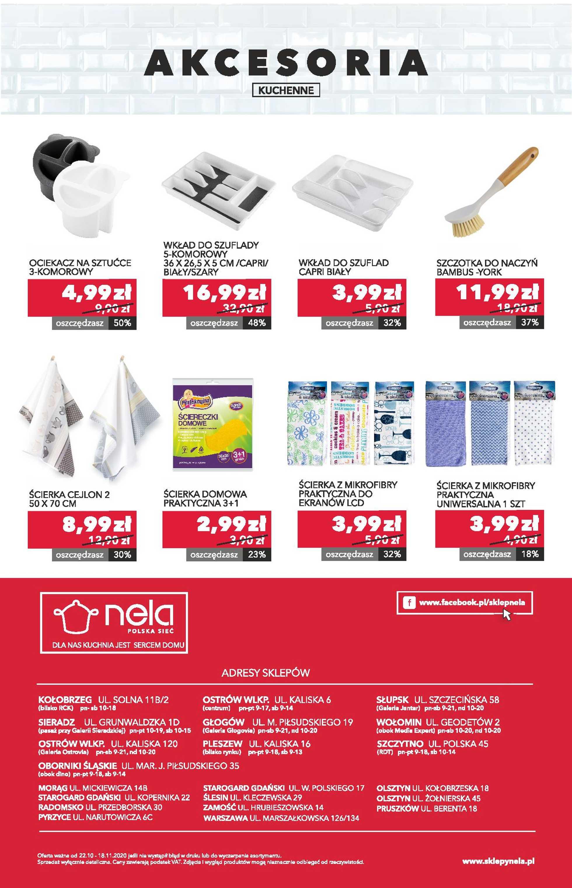Nela - gazetka promocyjna ważna od 22.10.2020 do 18.11.2020 - strona 4.