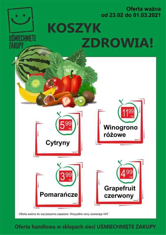PSS Gliwice - gazetka promocyjna ważna od 23.02.2021 do 01.03.2021 - strona 1.