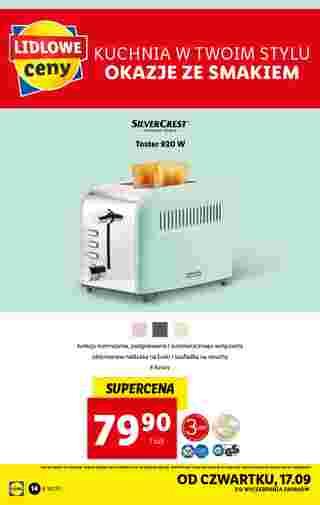 Lidl - gazetka promocyjna ważna od 14.09.2020 do 19.09.2020 - strona 14.