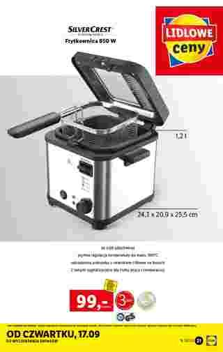 Lidl - gazetka promocyjna ważna od 14.09.2020 do 19.09.2020 - strona 21.