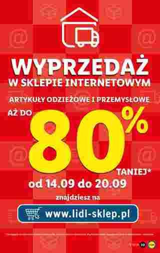 Lidl - gazetka promocyjna ważna od 14.09.2020 do 19.09.2020 - strona 39.