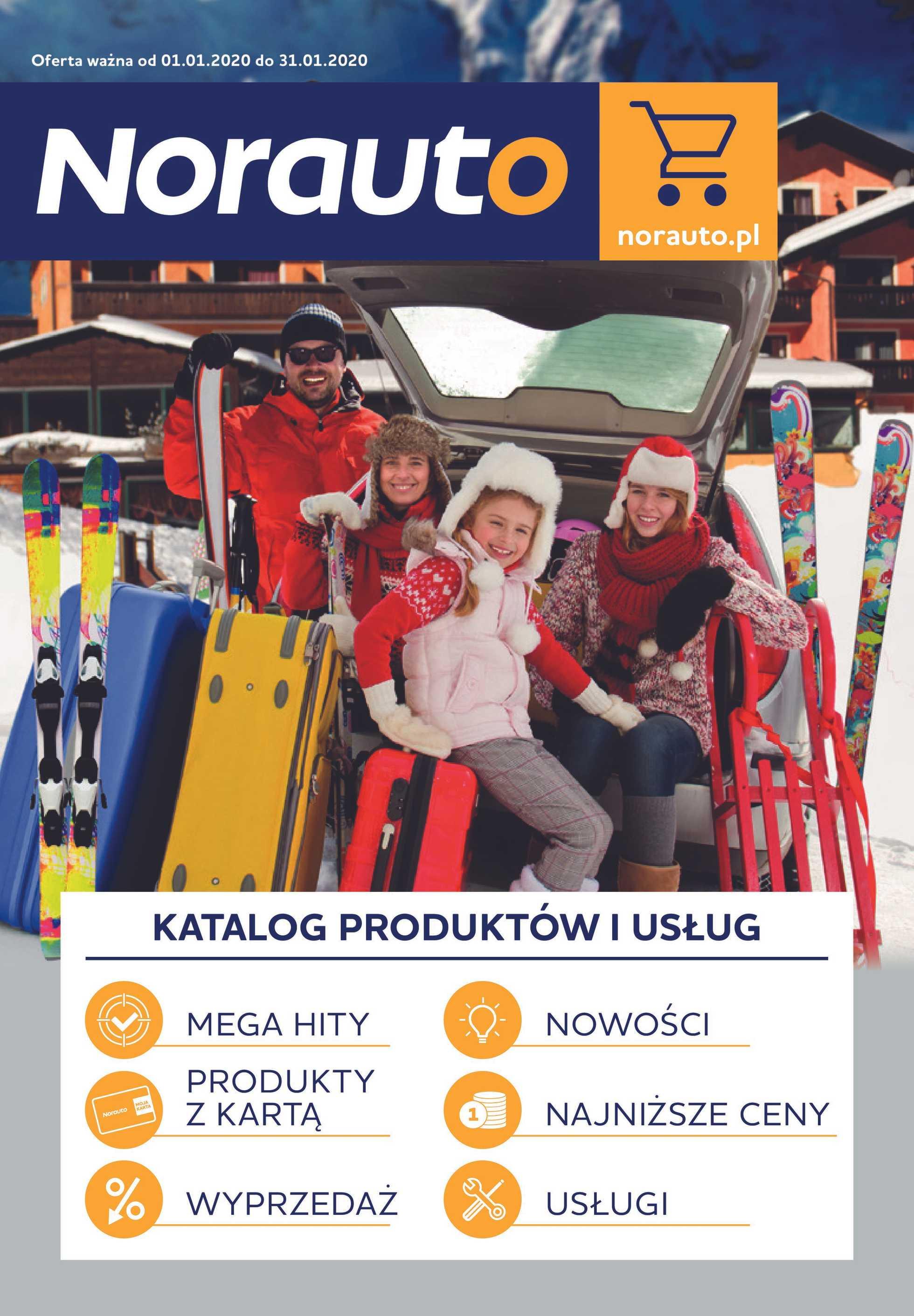 Norauto - gazetka promocyjna ważna od 01.01.2020 do 31.01.2020 - strona 1.