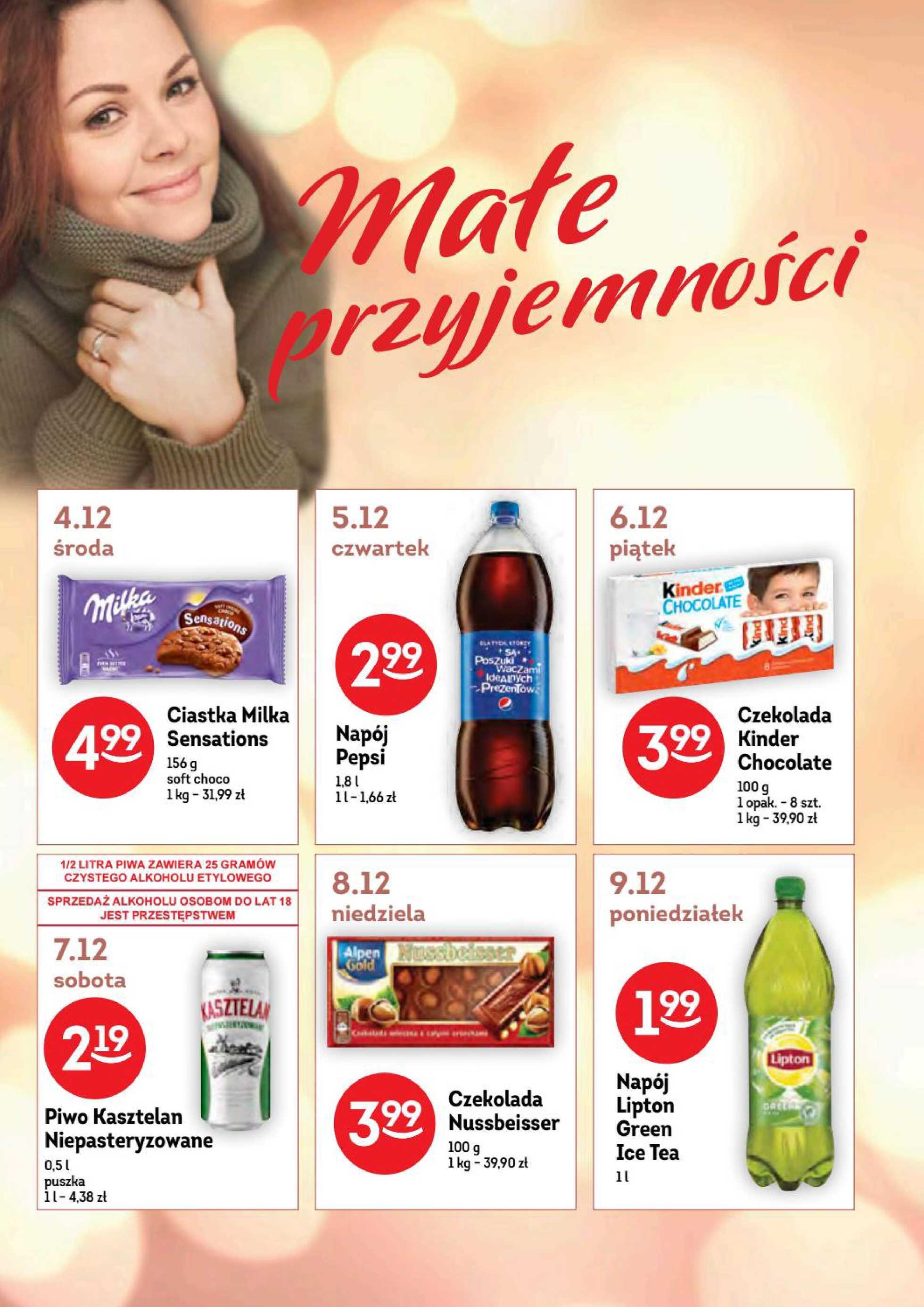 Żabka - gazetka promocyjna ważna od 04.12.2019 do 17.12.2019 - strona 4.