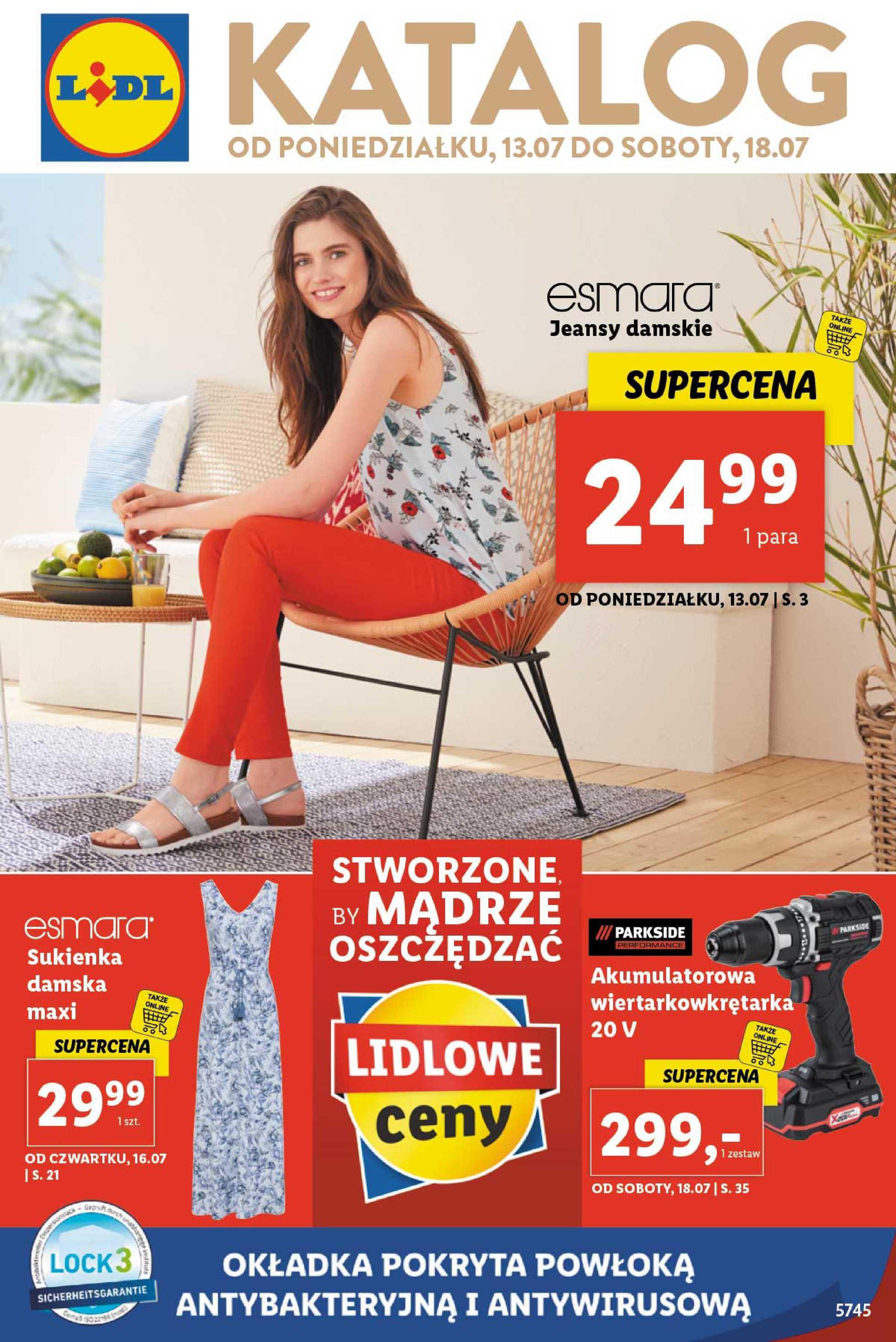Lidl - gazetka promocyjna ważna od 13.07.2020 do 18.07.2020 - strona 1.