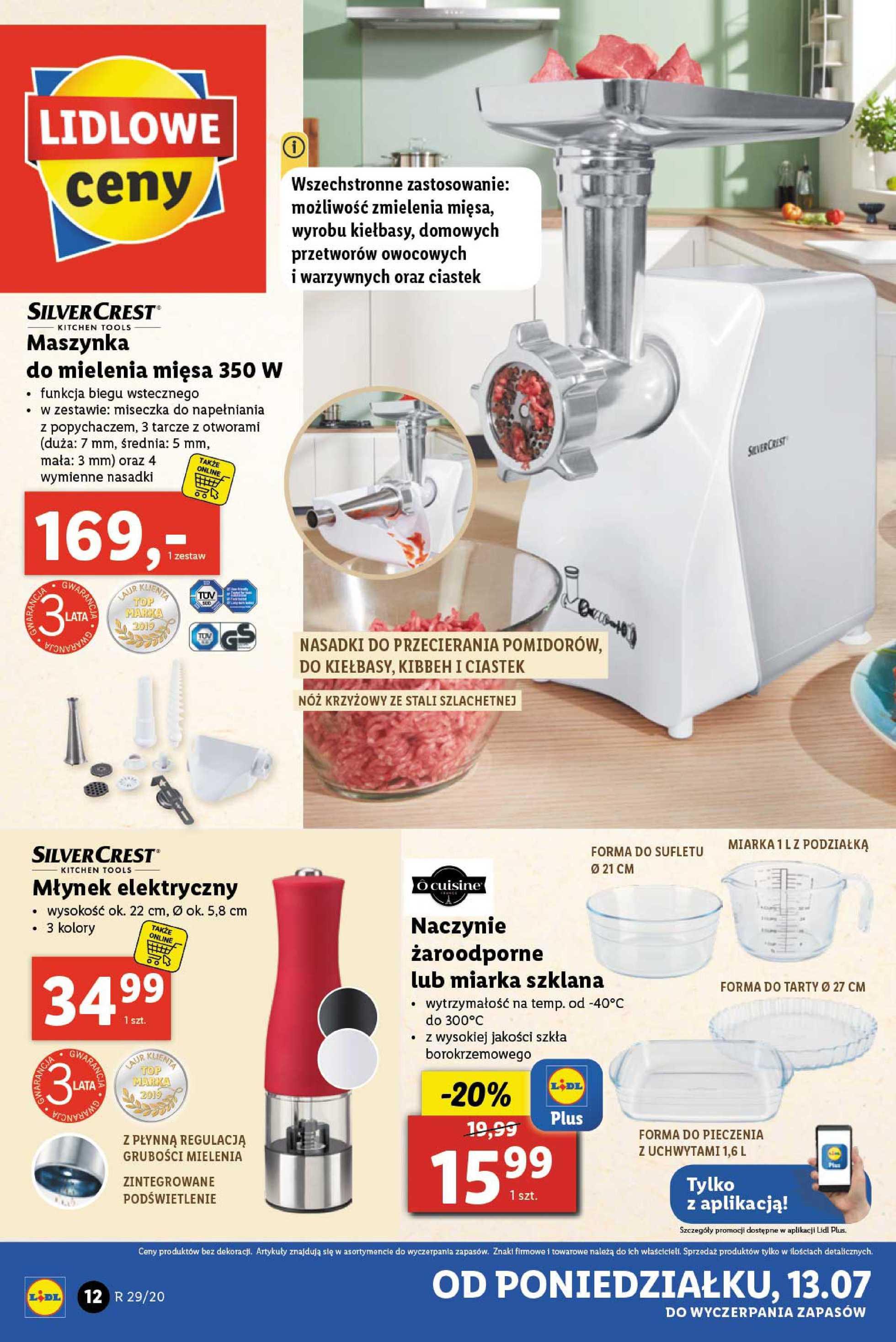 Lidl - gazetka promocyjna ważna od 13.07.2020 do 18.07.2020 - strona 4.