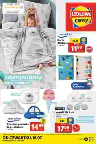 Lidl - gazetka promocyjna ważna od 13.07.2020 do 18.07.2020 - strona 22.