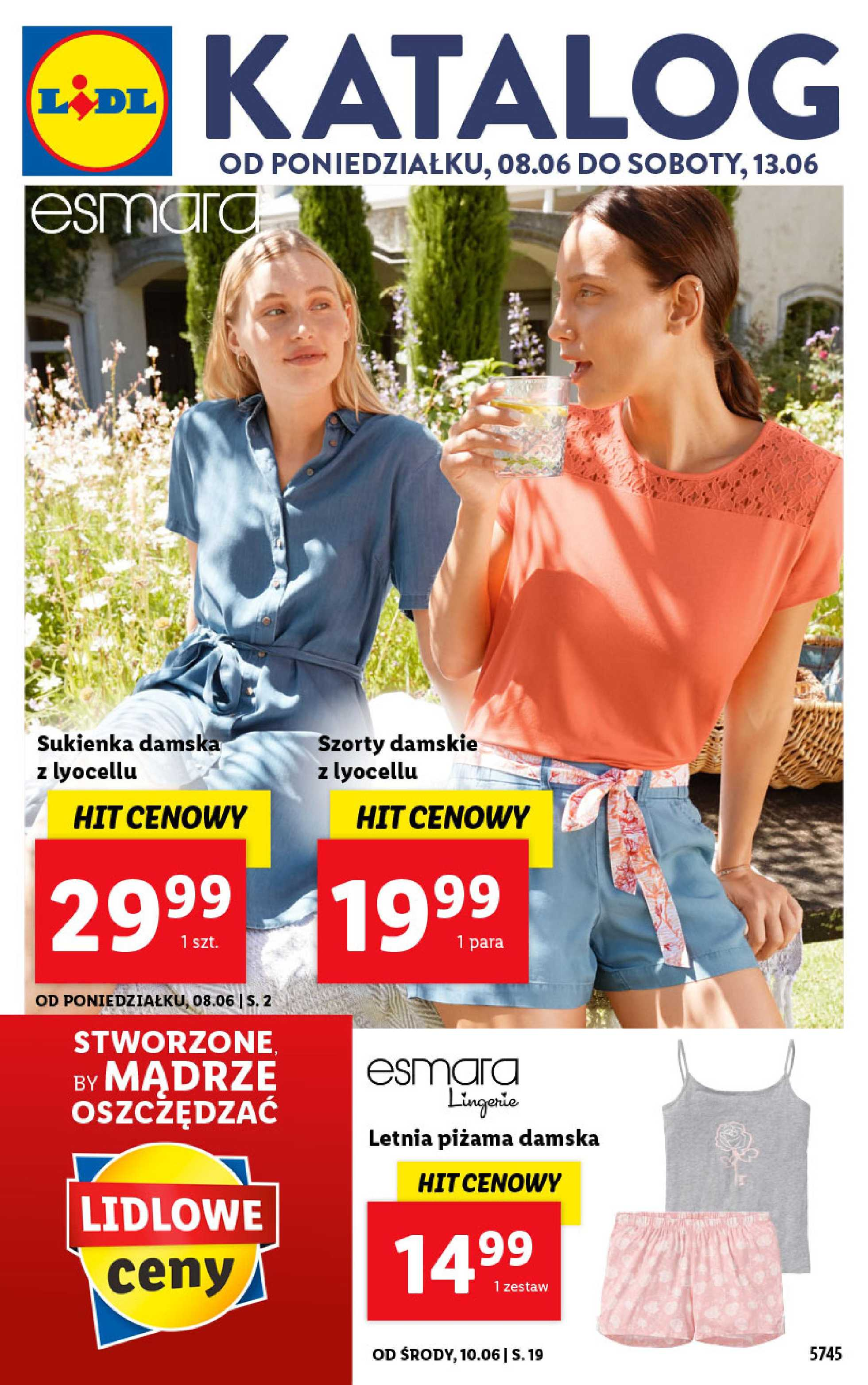 Lidl - gazetka promocyjna ważna od 08.06.2020 do 13.06.2020 - strona 1.