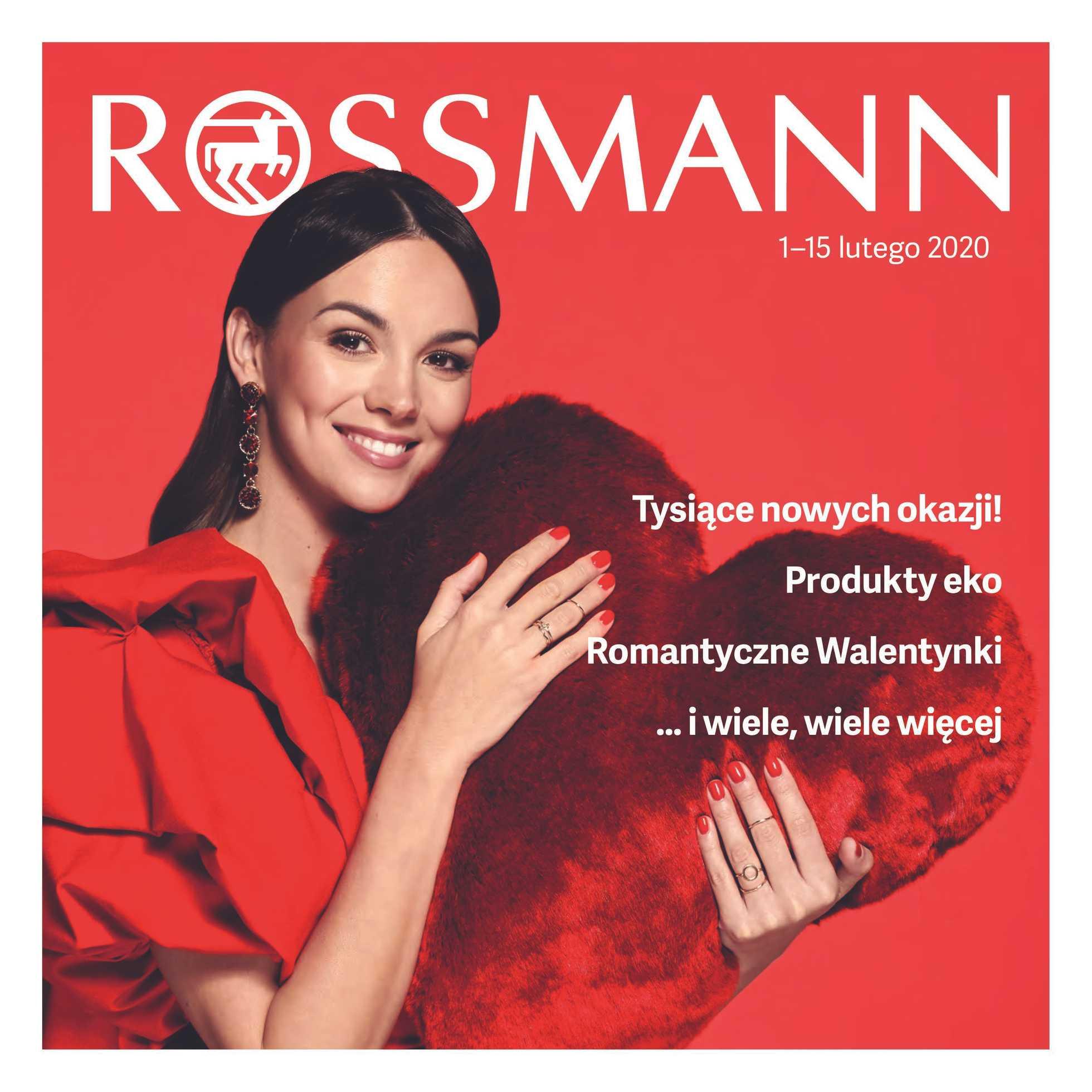 Rossmann - gazetka promocyjna ważna od 01.02.2020 do 15.02.2020 - strona 1.