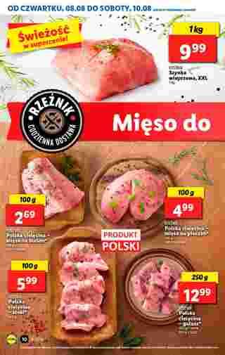 Lidl - gazetka promocyjna ważna od 08.08.2019 do 10.08.2019 - strona 10.