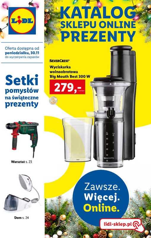 Lidl - gazetka promocyjna ważna od 30.11.2020 do 14.12.2020 - strona 1.