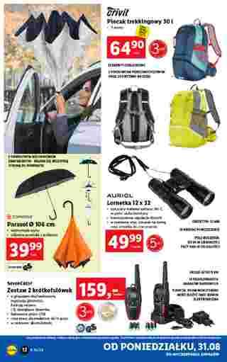 Lidl - gazetka promocyjna ważna od 31.08.2020 do 05.09.2020 - strona 12.