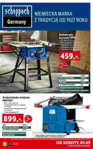 Lidl - gazetka promocyjna ważna od 31.08.2020 do 05.09.2020 - strona 42.