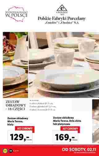 Lidl - gazetka promocyjna ważna od 28.10.2019 do 02.11.2019 - strona 38.