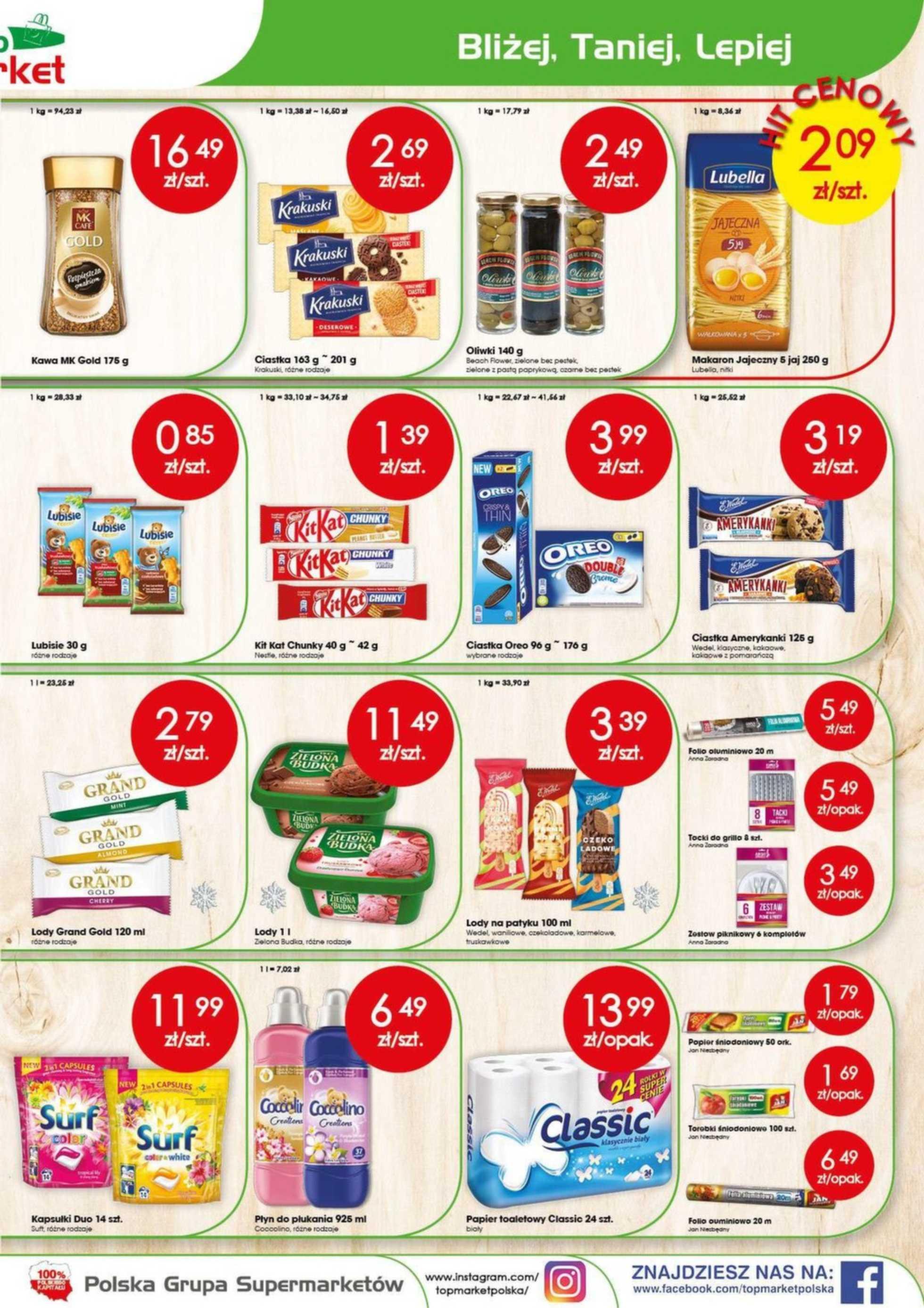 Top Market - gazetka promocyjna ważna od 05.08.2019 do 10.08.2019 - strona 3.
