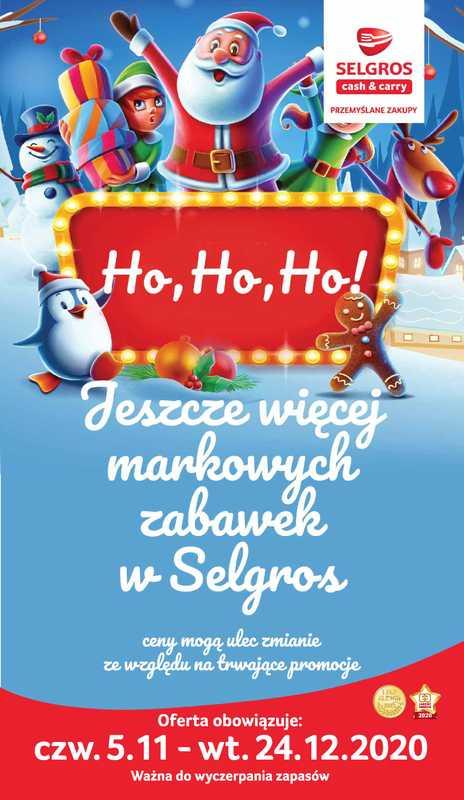 Selgros Cash&Carry - gazetka promocyjna ważna od 05.11.2020 do 24.12.2020 - strona 1.