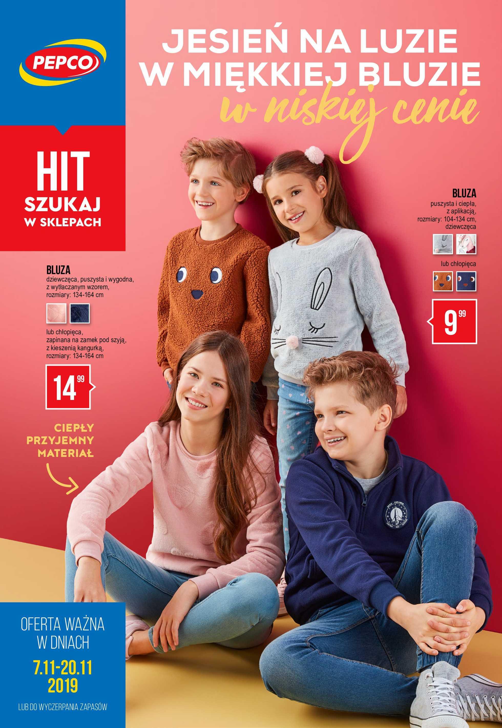 Pepco - gazetka promocyjna ważna od 07.11.2019 do 20.11.2019 - strona 1.