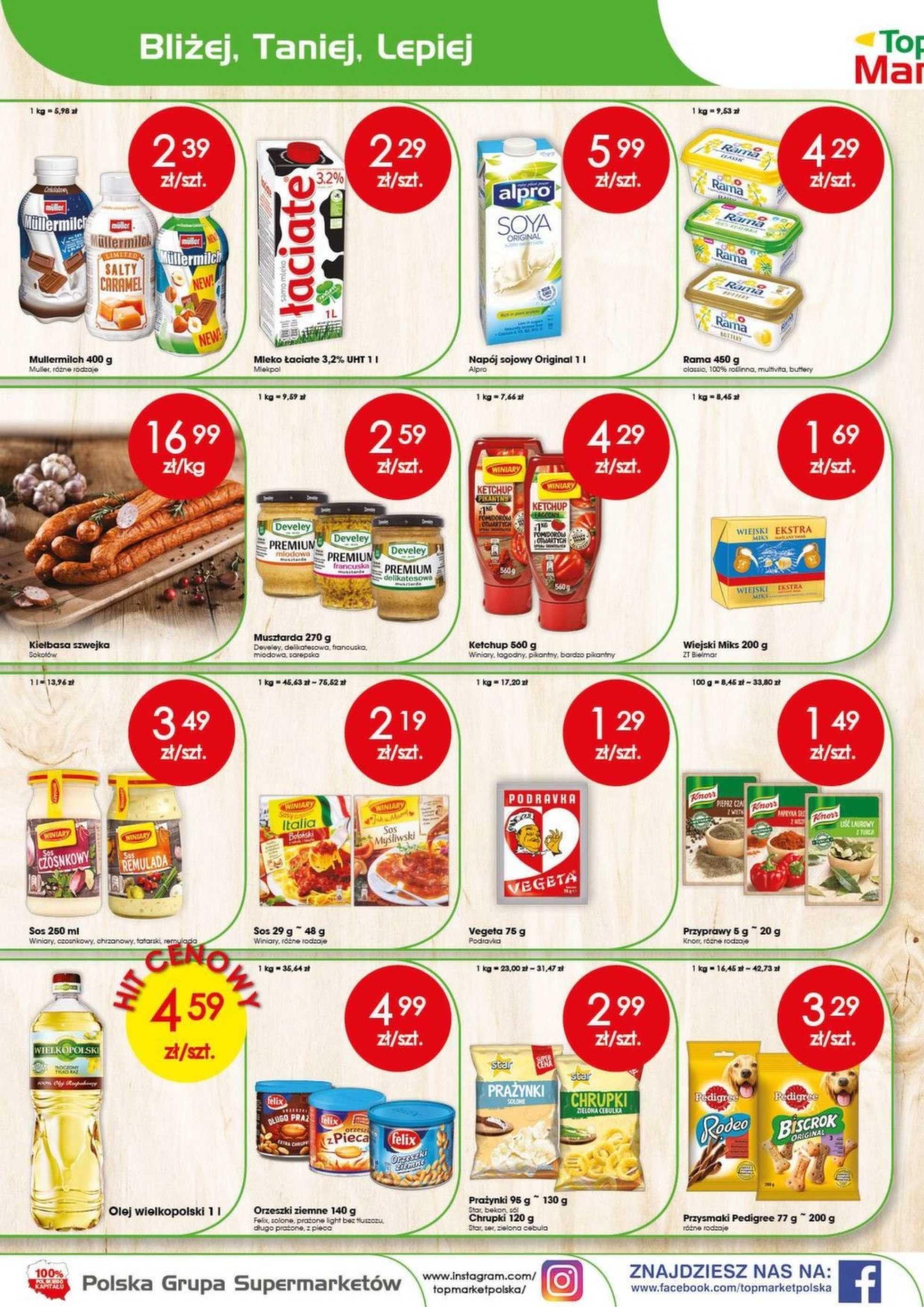 Top Market - gazetka promocyjna ważna od 05.08.2019 do 10.08.2019 - strona 2.