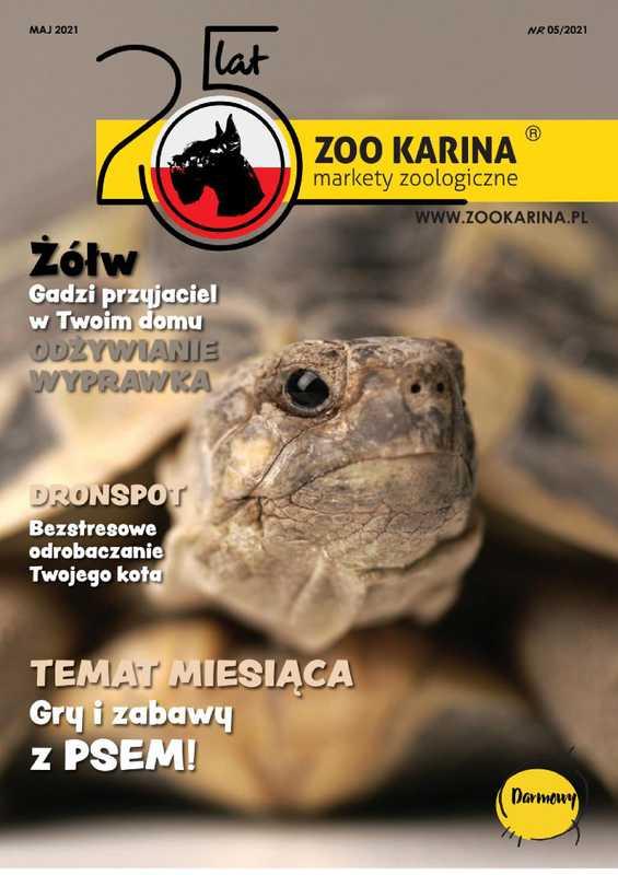 ZOO Karina - gazetka promocyjna ważna od 01.05.2021 do 31.05.2021 - strona 1.
