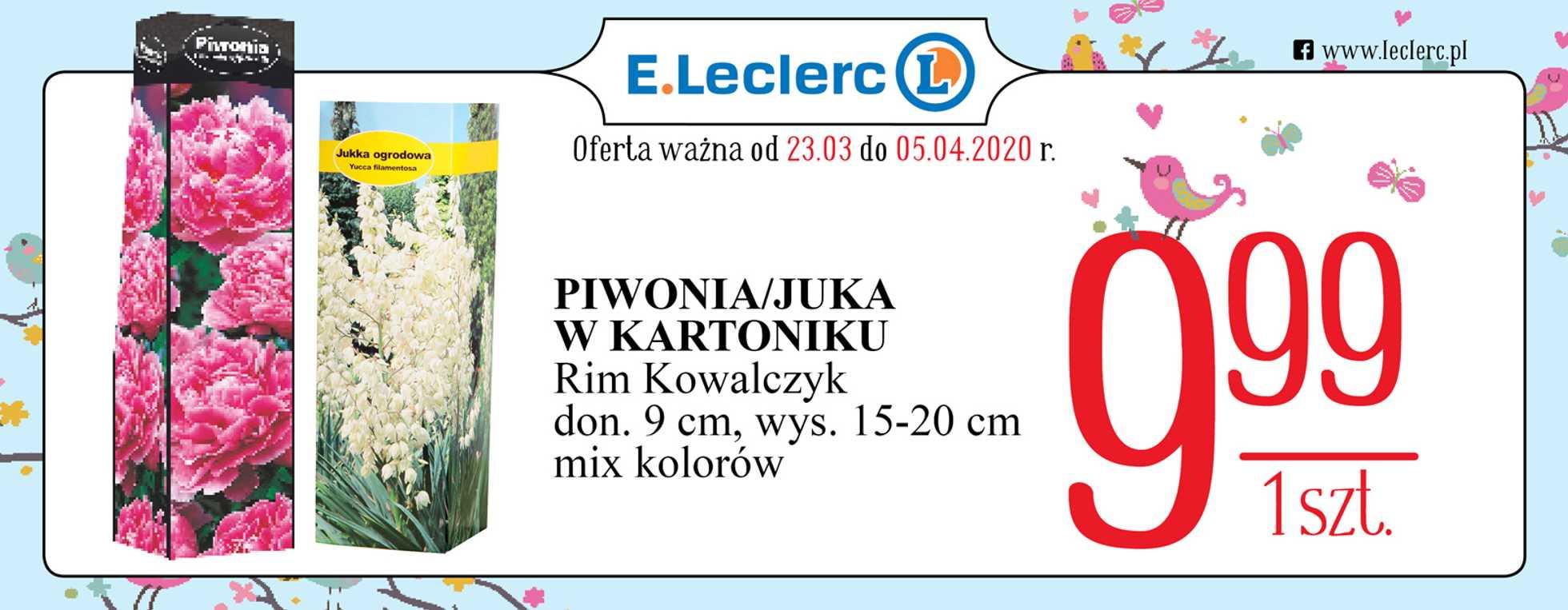 E.Leclerc - gazetka promocyjna ważna od 23.03.2020 do 05.04.2020 - strona 1.