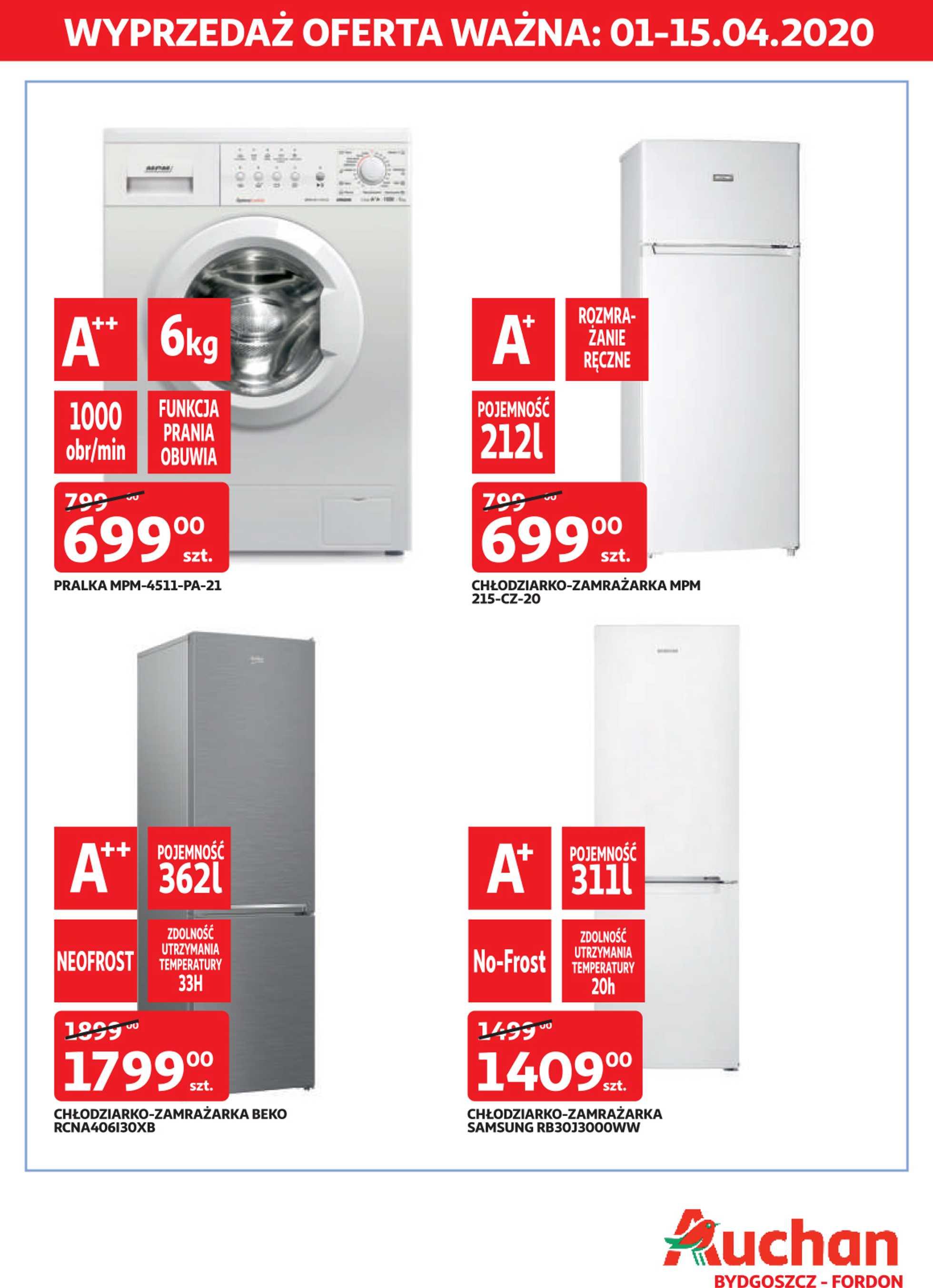 Auchan - gazetka promocyjna ważna od 01.04.2020 do 15.04.2020 - strona 2.