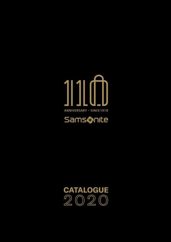 Samsonite - gazetka promocyjna ważna od 01.03.2020 do 31.12.2020 - strona 1.