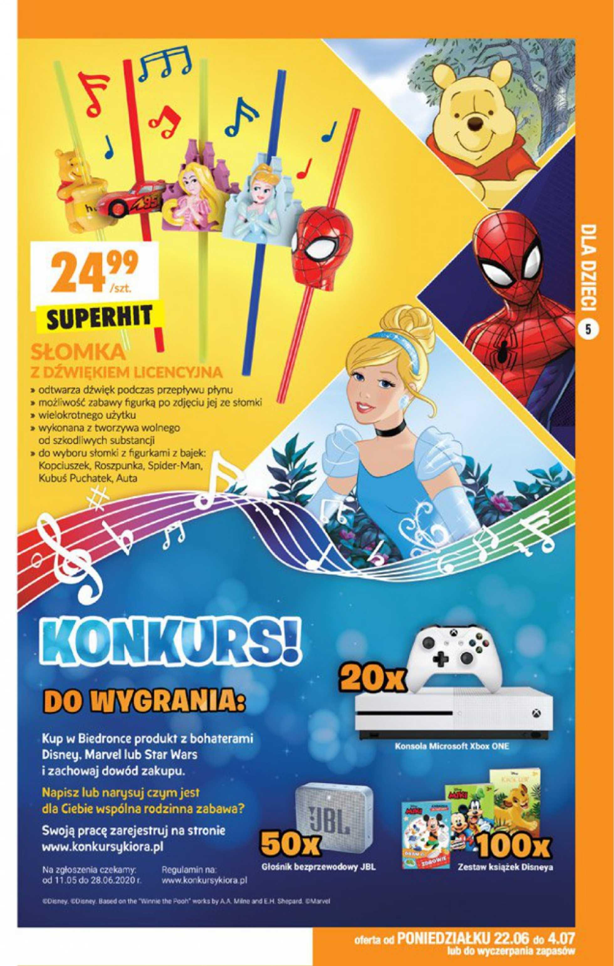 Biedronka - gazetka promocyjna ważna od 22.06.2020 do 04.07.2020 - strona 4.