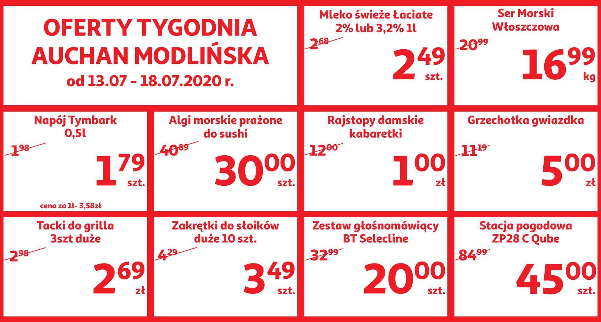 Auchan - gazetka promocyjna ważna od 13.07.2020 do 18.07.2020 - strona 1.