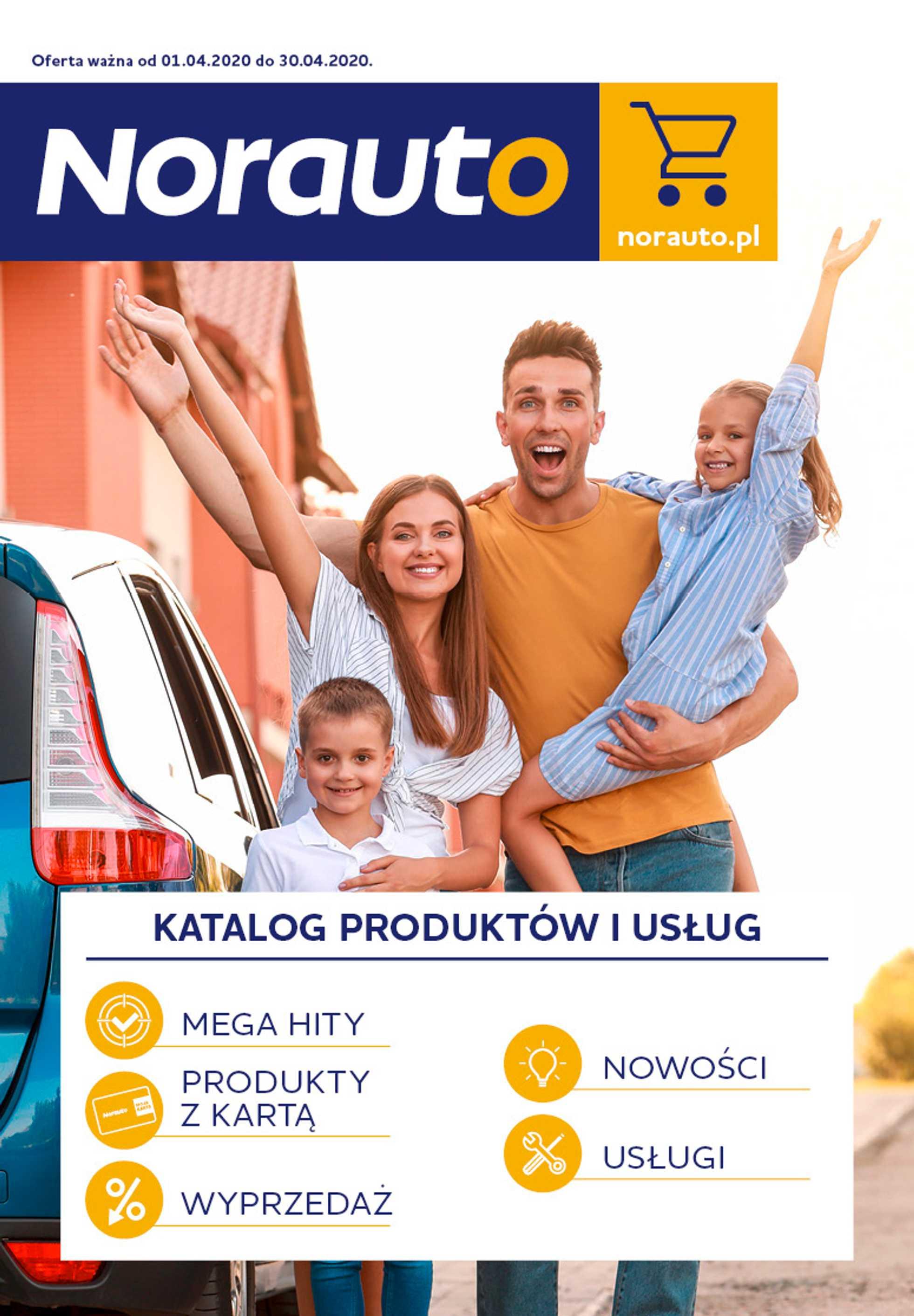 Norauto - gazetka promocyjna ważna od 01.04.2020 do 30.04.2020 - strona 1.