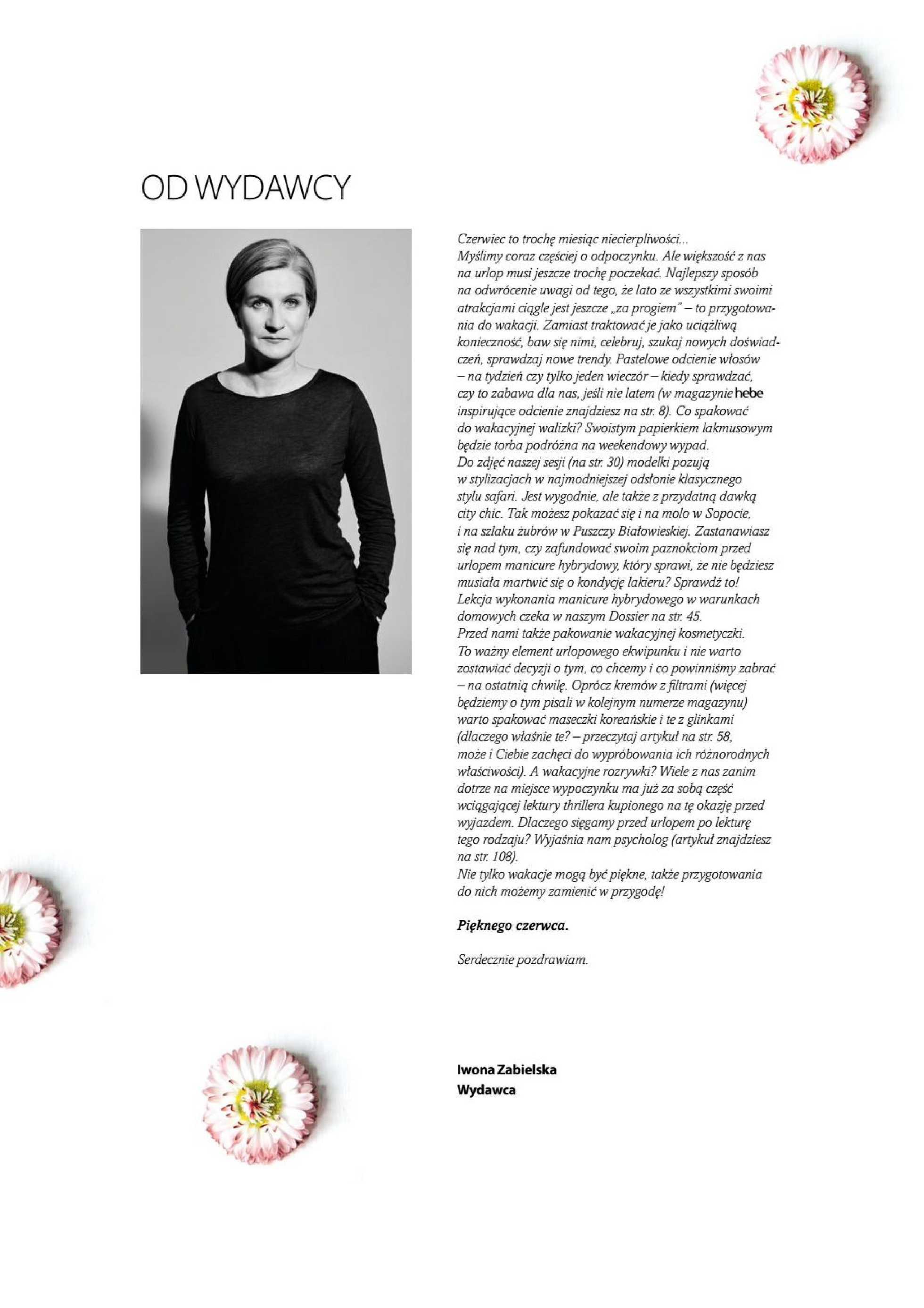 Hebe - gazetka promocyjna ważna od 01.06.2019 do 30.06.2019 - strona 3.