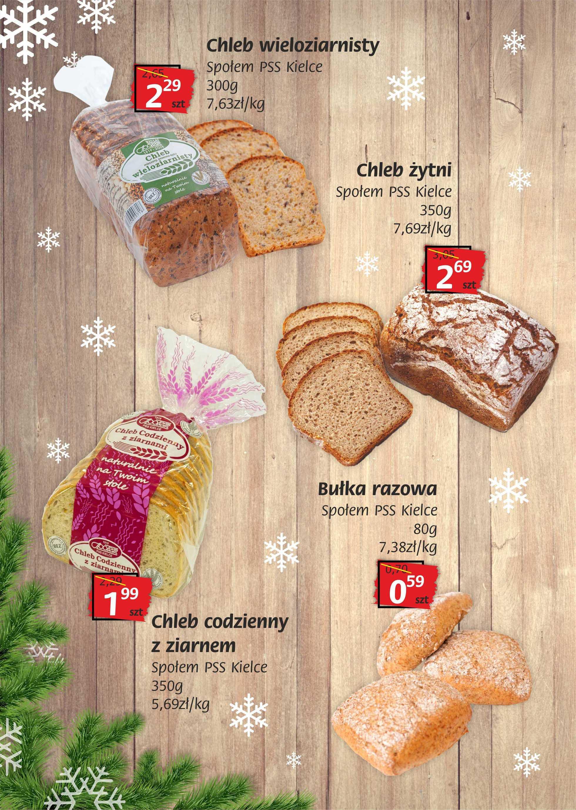 Społem Kielce - gazetka promocyjna ważna od 05.12.2019 do 16.12.2019 - strona 2.