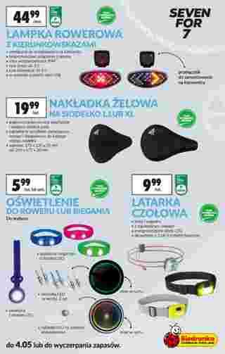 Biedronka - gazetka promocyjna ważna od 23.04.2019 do 08.05.2019 - strona 7.