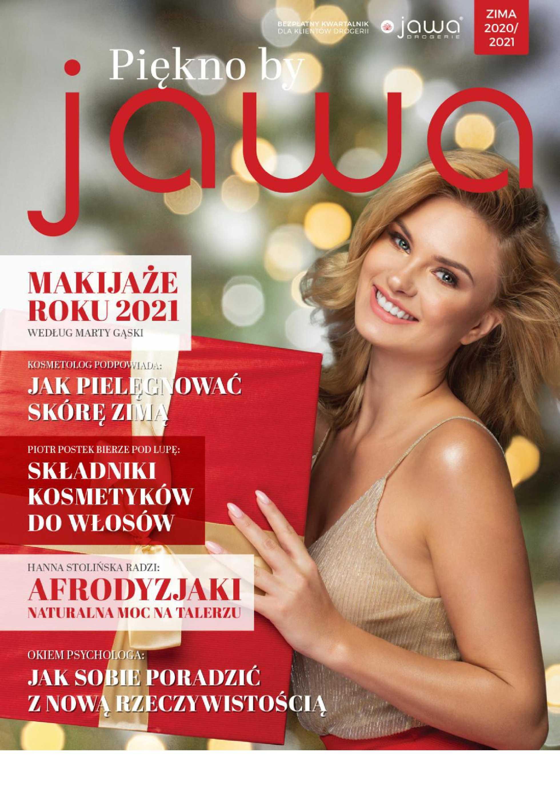 Jawa Drogerie - gazetka promocyjna ważna od 21.12.2020 do 20.03.2021 - strona 1.