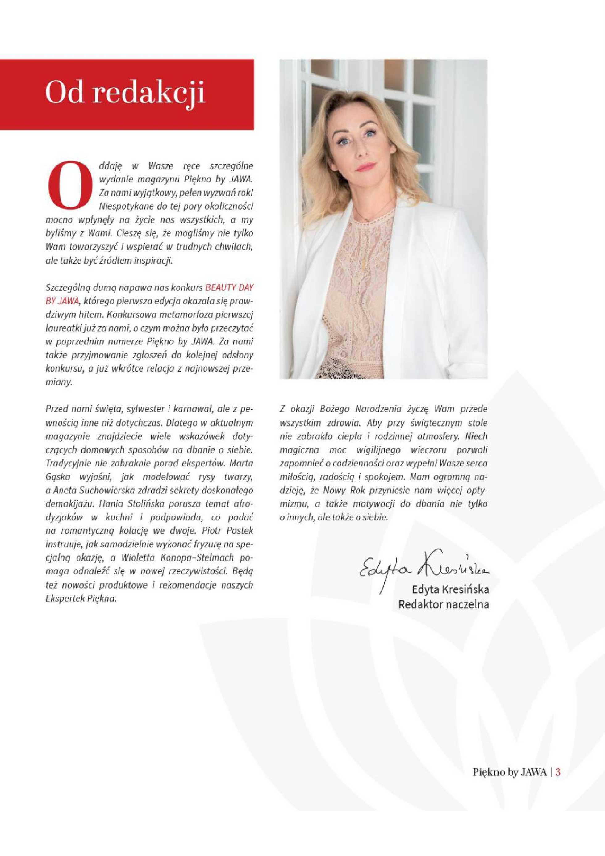 Jawa Drogerie - gazetka promocyjna ważna od 21.12.2020 do 20.03.2021 - strona 3.