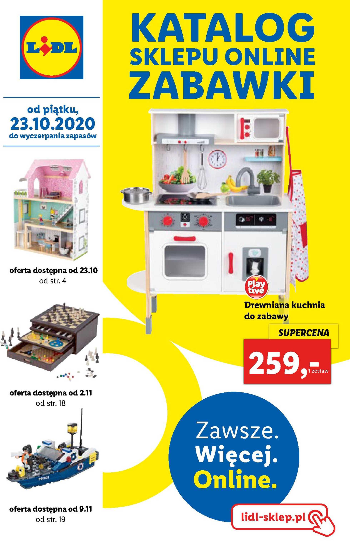 Lidl - gazetka promocyjna ważna od 23.10.2020 do 06.11.2020 - strona 1.