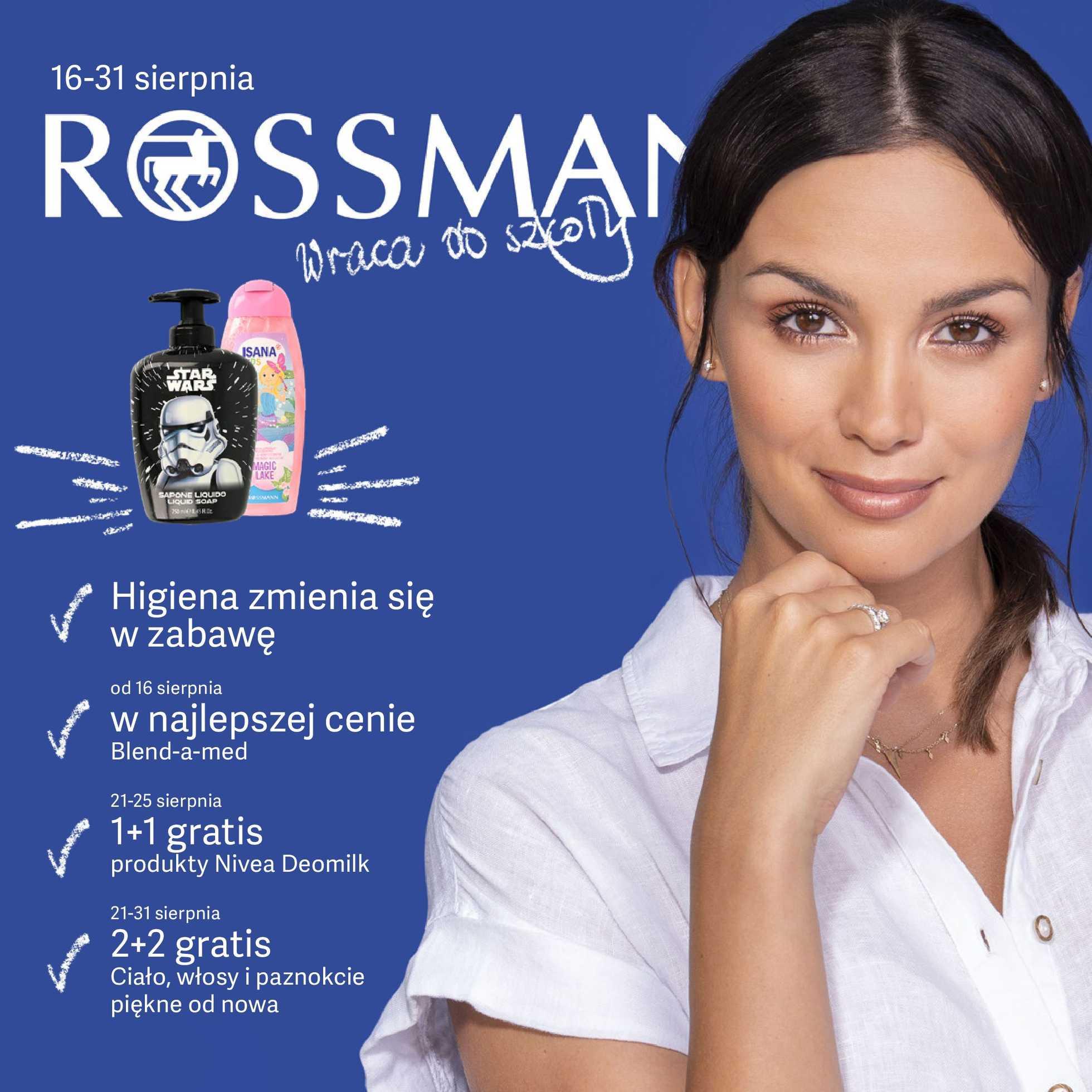 Rossmann - gazetka promocyjna ważna od 16.08.2019 do 31.08.2019 - strona 1.
