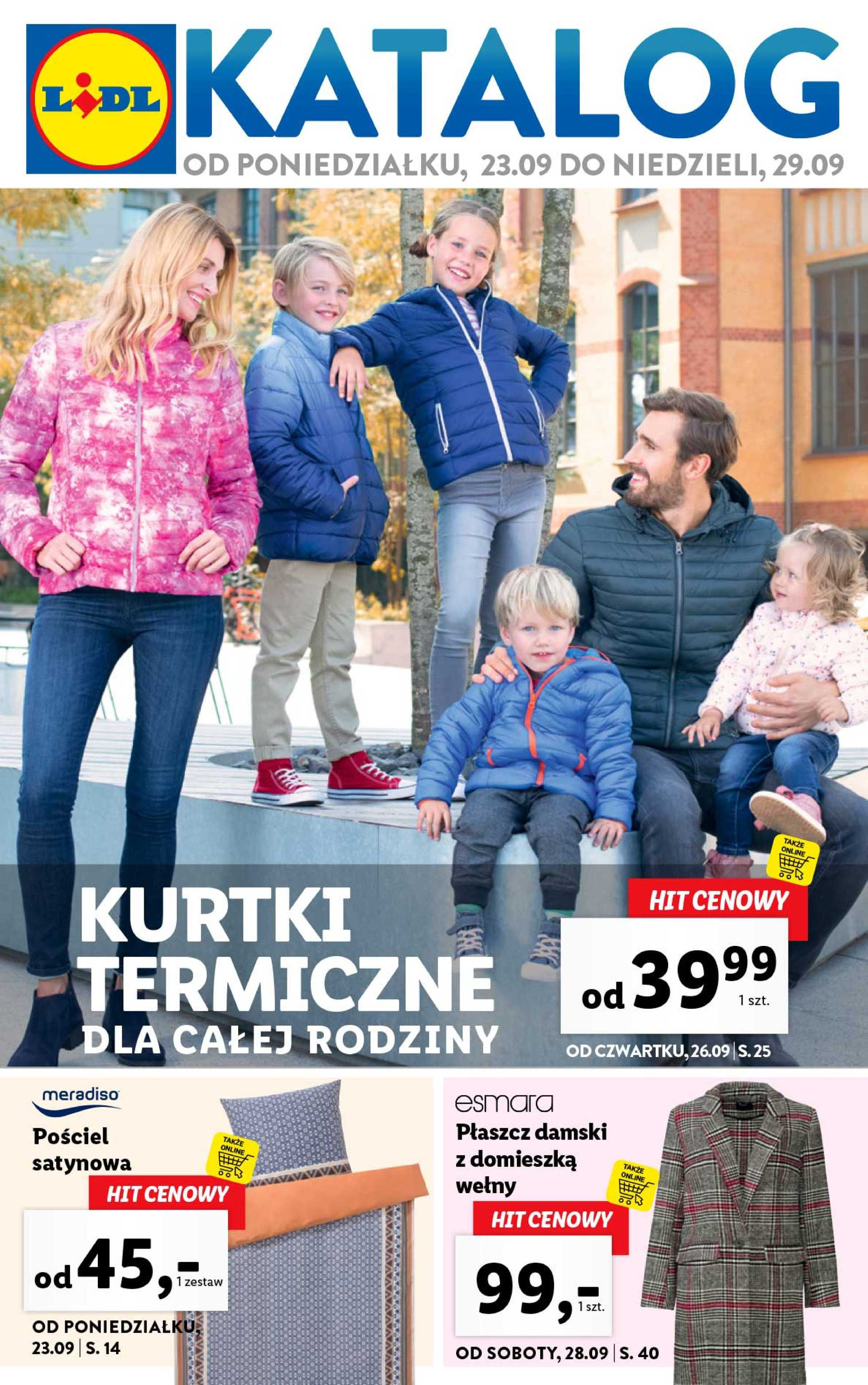Lidl - gazetka promocyjna ważna od 23.09.2019 do 29.09.2019 - strona 1.