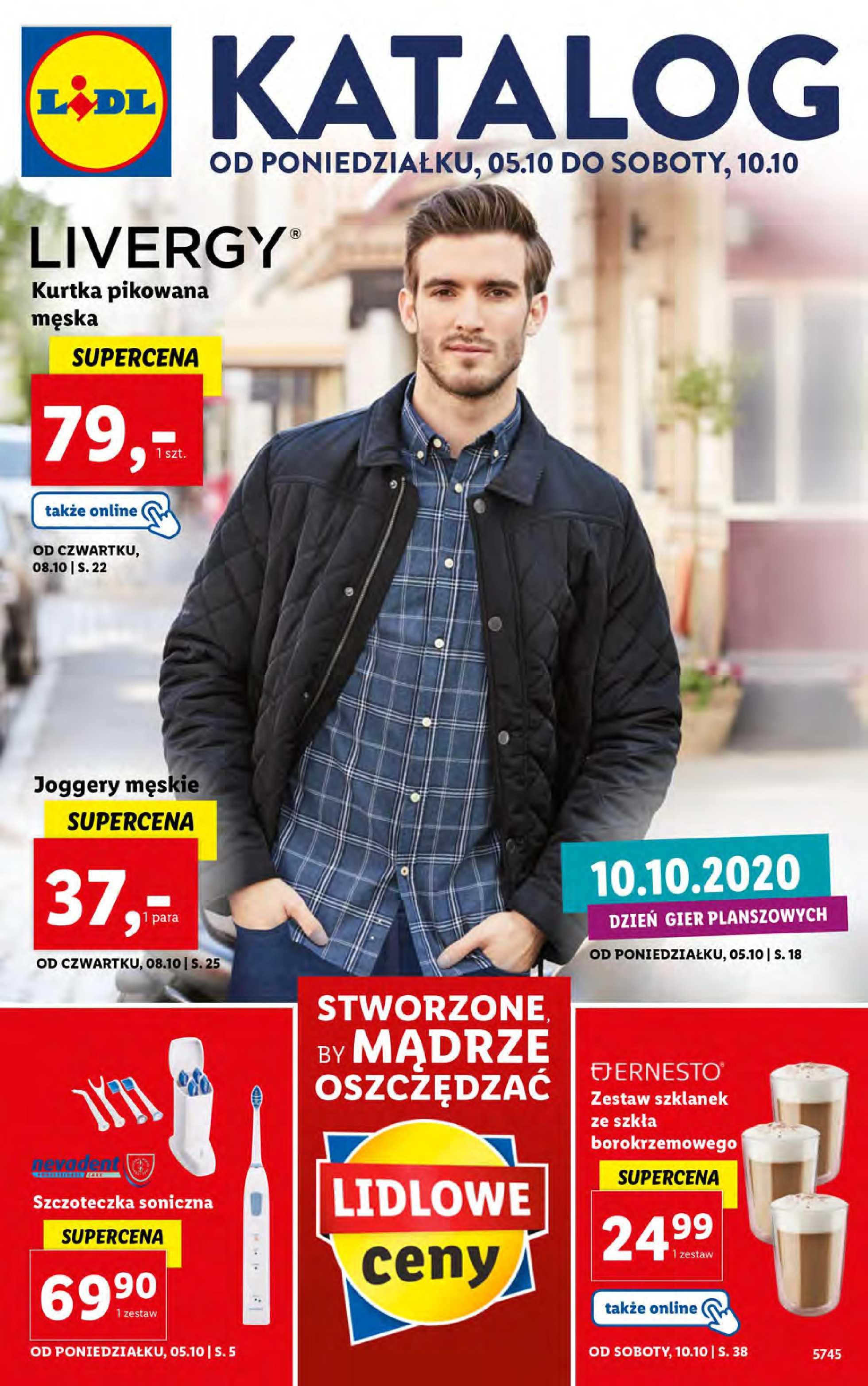 Lidl - gazetka promocyjna ważna od 05.10.2020 do 10.10.2020 - strona 1.
