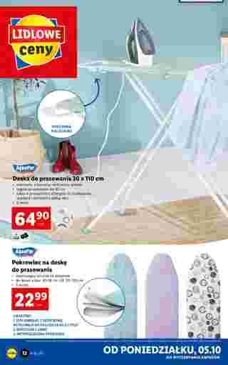 Lidl - gazetka promocyjna ważna od 05.10.2020 do 10.10.2020 - strona 12.