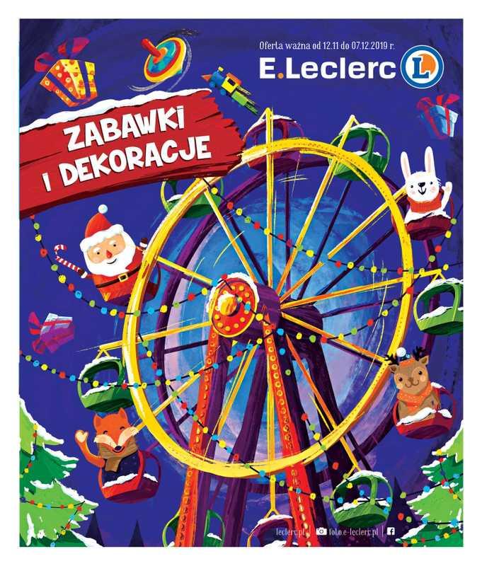 E.Leclerc - gazetka promocyjna ważna od 12.11.2019 do 07.12.2019 - strona 1.