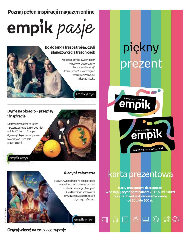 Empik - gazetka promocyjna ważna od 02.10.2019 do 15.10.2019 - strona 2.