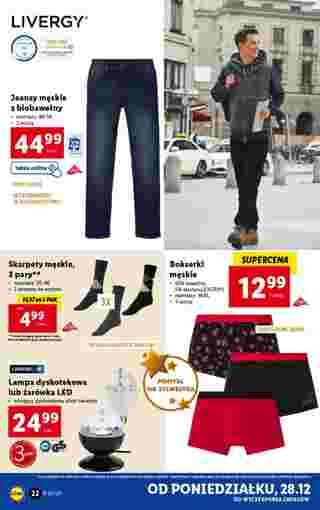 Lidl - gazetka promocyjna ważna od 28.12.2020 do 02.01.2021 - strona 22.