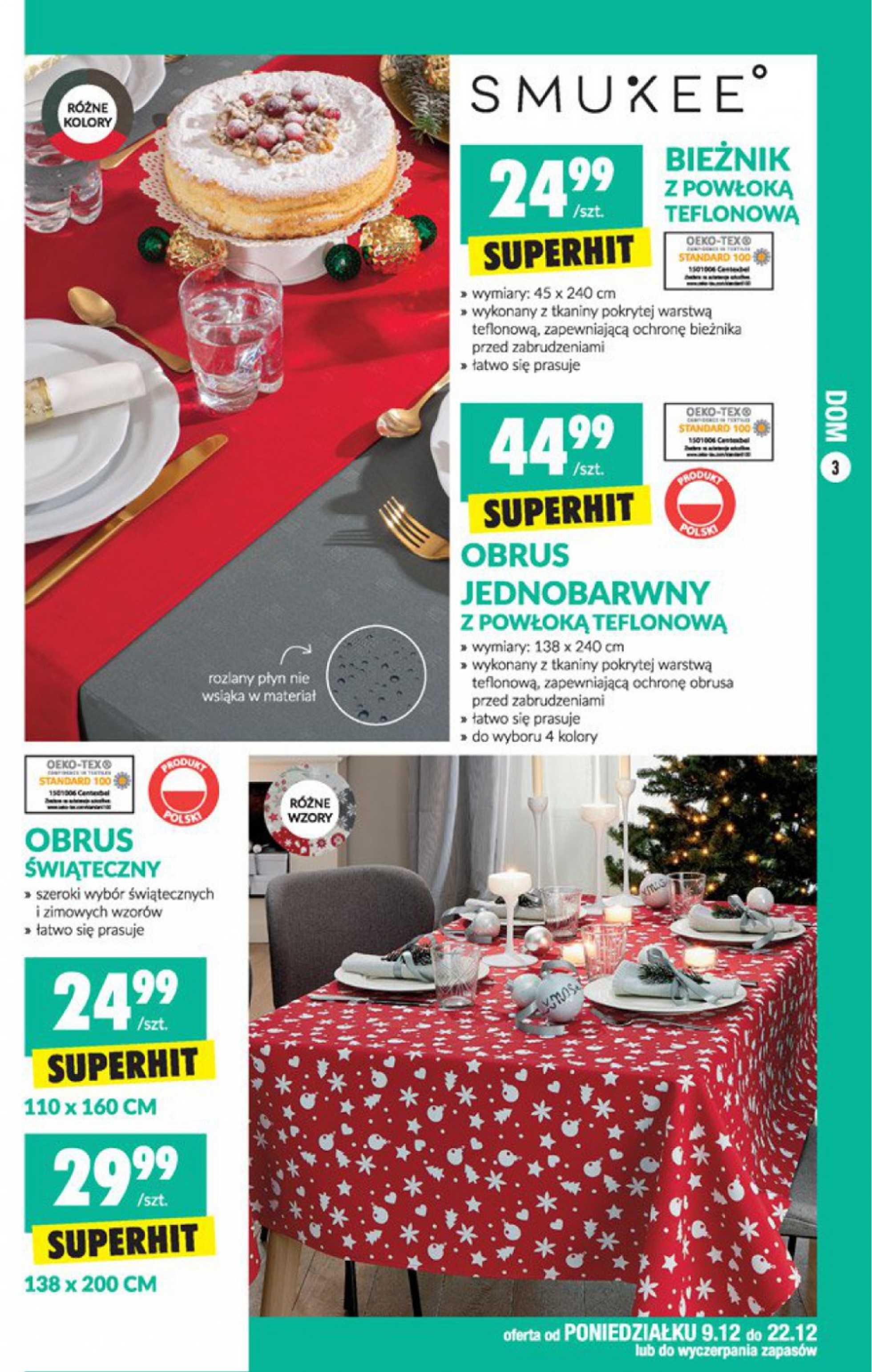 Biedronka - gazetka promocyjna ważna od 09.12.2019 do 22.12.2019 - strona 3.