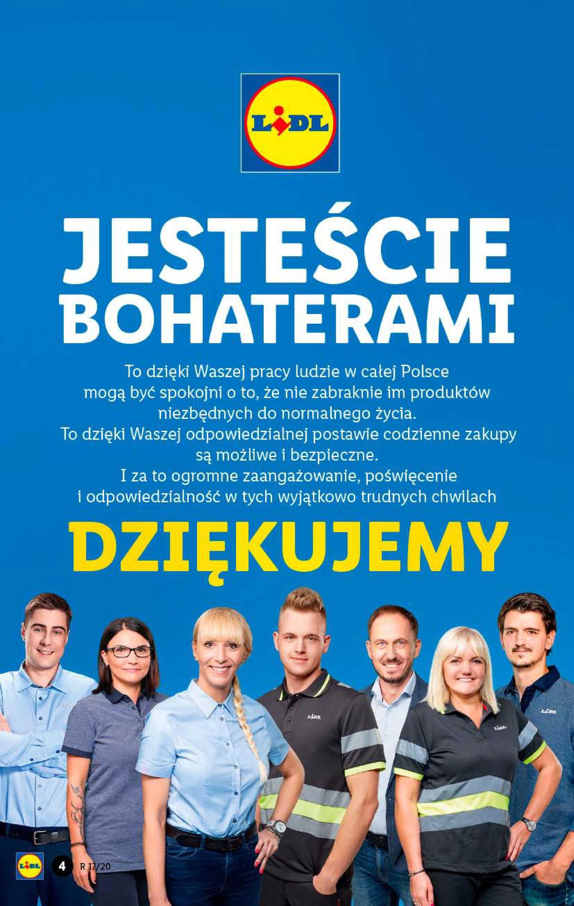 Lidl - gazetka promocyjna ważna od 20.04.2020 do 22.04.2020 - strona 4.