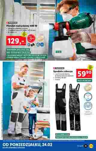 Lidl - gazetka promocyjna ważna od 24.02.2020 do 29.02.2020 - strona 11.