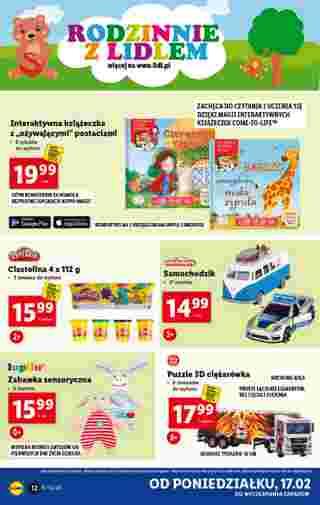 Lidl - gazetka promocyjna ważna od 17.02.2020 do 22.02.2020 - strona 12.