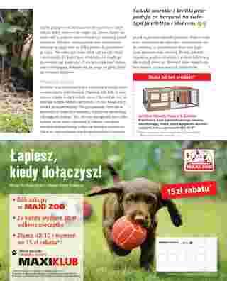 Maxi ZOO - gazetka promocyjna ważna od 05.05.2018 do 31.03.2019 - strona 31.
