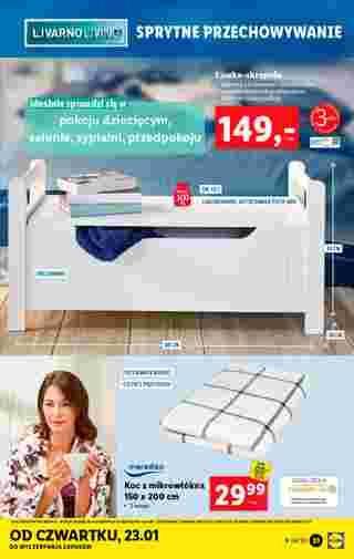 Lidl - gazetka promocyjna ważna od 20.01.2020 do 26.01.2020 - strona 31.
