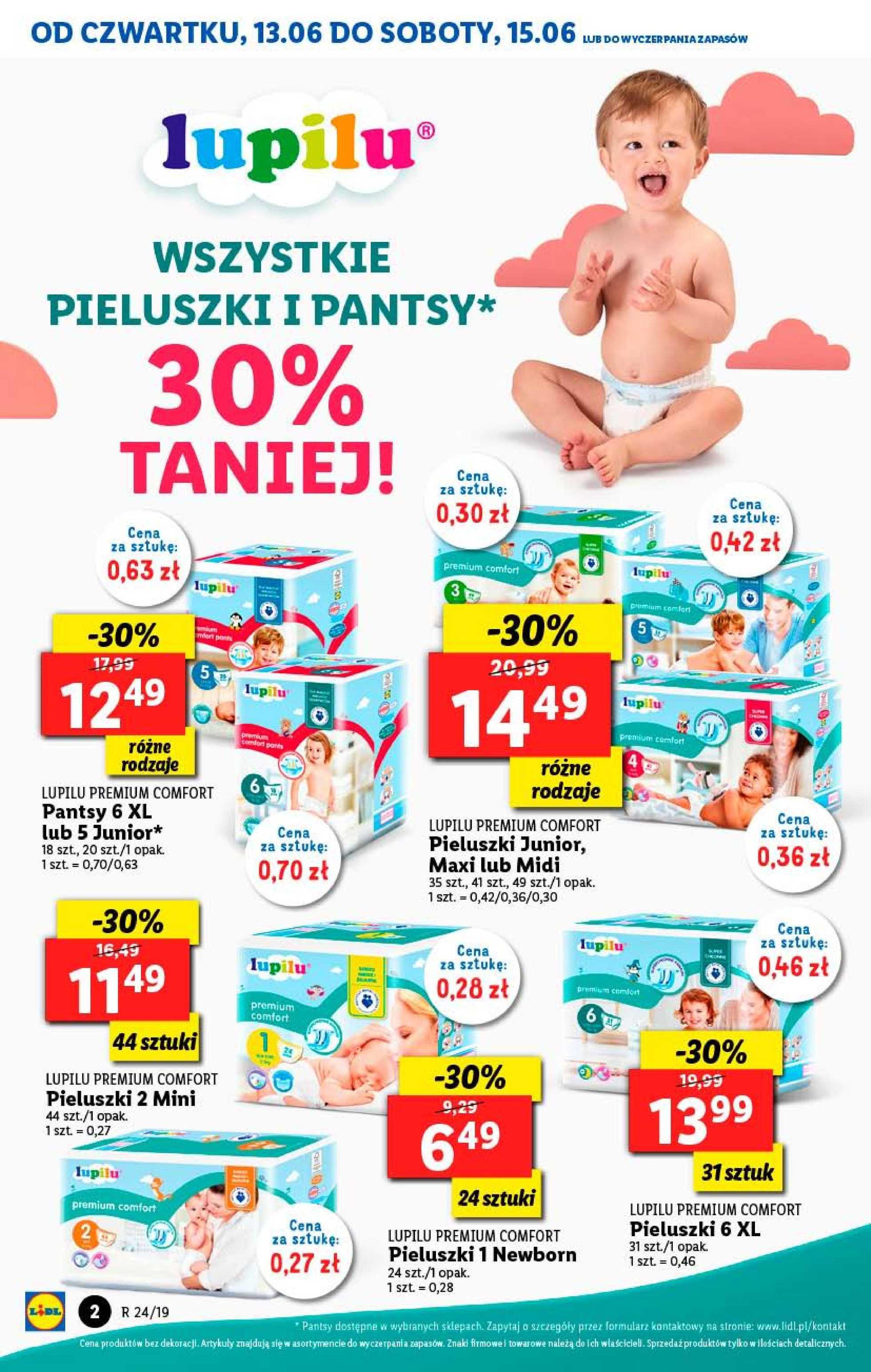 Lidl - gazetka promocyjna ważna od 13.06.2019 do 15.06.2019 - strona 2.