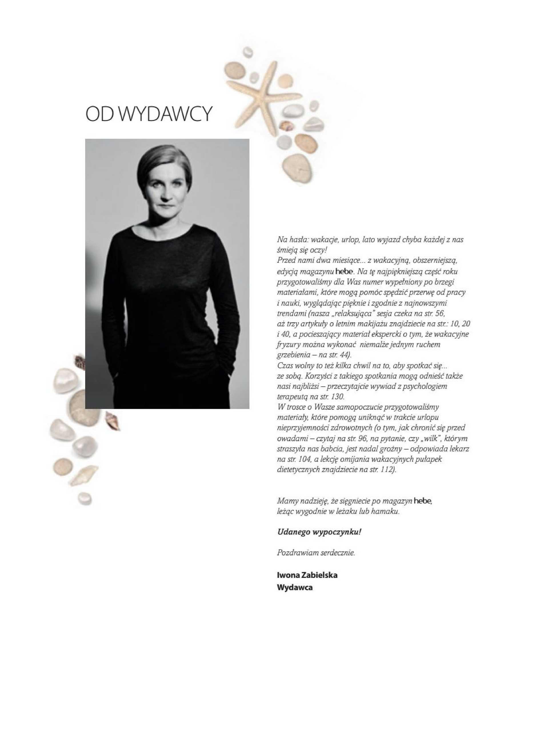 Hebe - gazetka promocyjna ważna od 01.07.2019 do 31.08.2019 - strona 3.