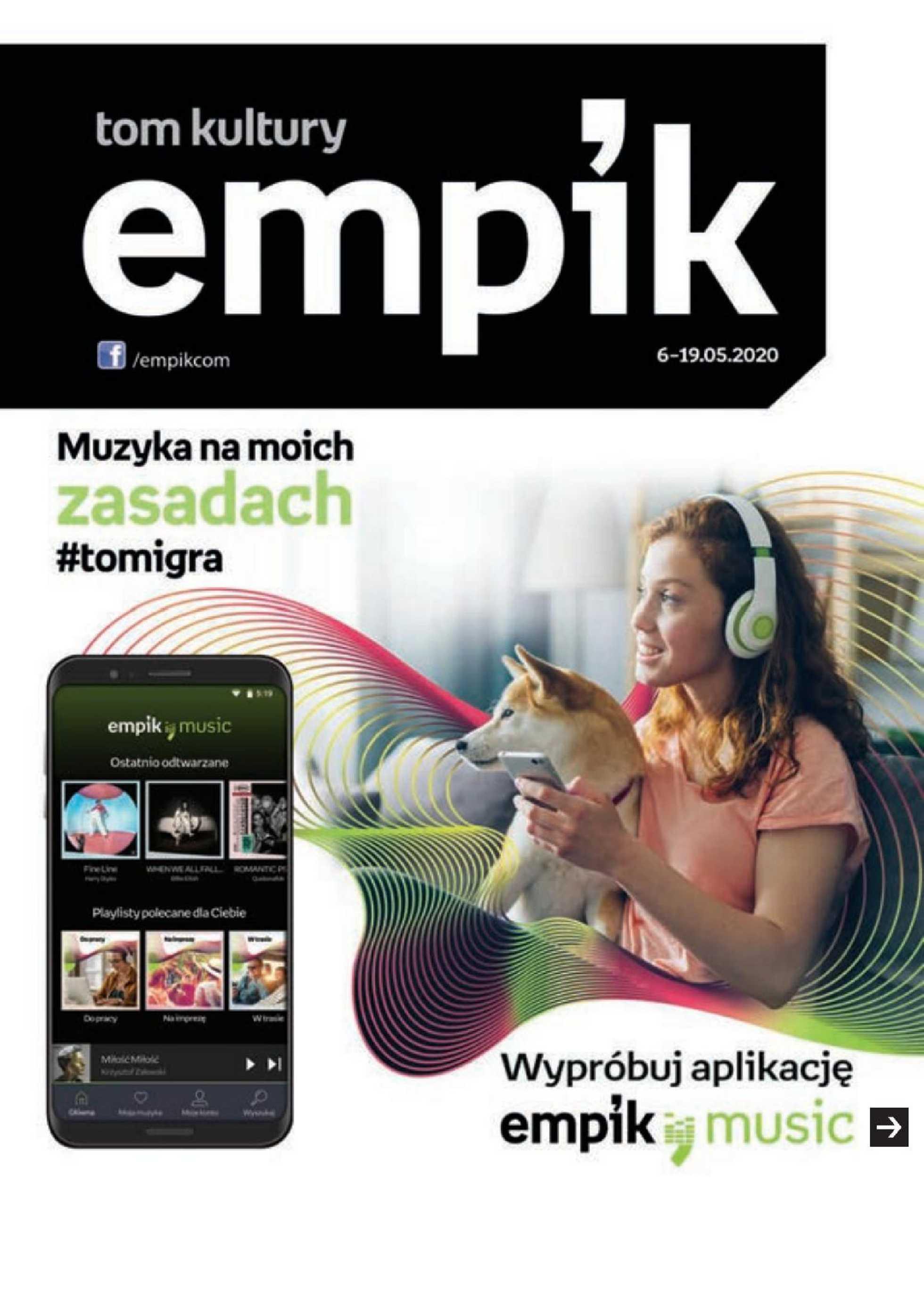 Empik - gazetka promocyjna ważna od 06.05.2020 do 19.05.2020 - strona 1.